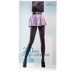 Женские колготки Mirey оптом теплые и мягкие из хлопка и кашемира 250den Cotcash250