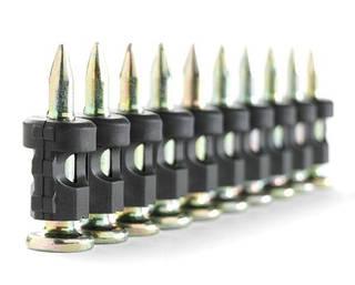 Пистолетные гвозди для бетона 3.05*25 мм, в обойме EG (1000 шт.)