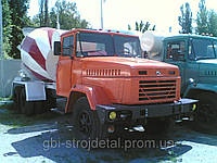 Доставка бетона бетоновозами Днепропетровская область, Новомосковск