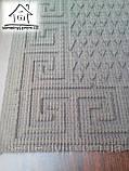 Тканинний килимок Нитка 120*80 см (Сірий), фото 2
