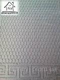 Тканинний килимок Нитка 120*80 см (Сірий), фото 3