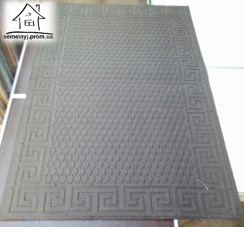 Тканинний килимок Нитка 120*80 см (Сірий)