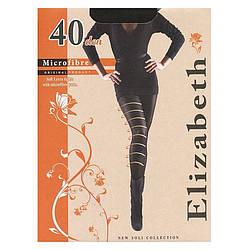 Модные колготки Elizabeth женские с лайкрой и микрофиброй 40 den 00122-1