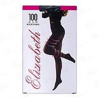 Красивые колготки Elizabeth женские с лайкрой и микрофиброй 100 den 00124-1