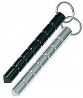 Куботан -брелок для ключей для самозащиты, цвета стальной и чёрный