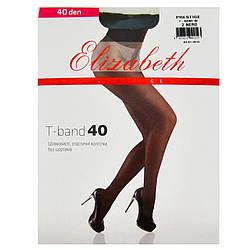 Жіночі колготки Elizabeth оптом шовковисті, еластичні з шортиками з подвійним крученням нитки 40 den 00316-1
