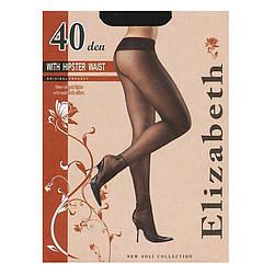 Тонкі елегантні колготки без шортиків, із заниженою талією. 40 den Арт.00118-1
