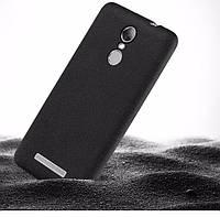 Чехол Бампер MAKAVO для Xiaomi Redmi Note 3 / Redmi Note 3 Pro Ультратонкий матовый черный