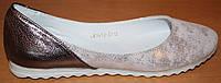 Балетки женские кожаные, кожаные балетки женские от производителя модель ВБ1412, фото 1
