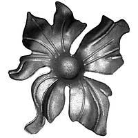 52.130 цветок кованый 135*135*4 мм., ковка элемент (литьё).
