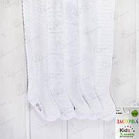 Белые колготки детские для девочки с бамбуковым волокном Ласточка T34-6 магазин детских колгот