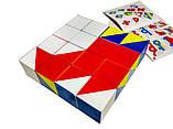 Кубики Нікітіна Склади візерунок (розмір 3,0 х 3,0 х 3,0 см) Вундеркінд (К-001м), фото 5