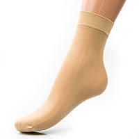 Носочки капроновые с лайкрой и тормозами 30 den024KOL женские носочки оптом дешево Украина