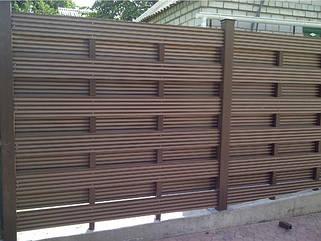 Декоративная планка из дпк (сайдинг, забор)