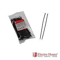 ElectroHouse Стяжка кабельная чёрная 4x150 EH-B-005