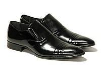 Мужская обувь. Туфли чёрные Etor