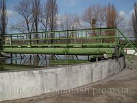Илоскреб диаметром 18 метров М593 для первичных радиальных отстойников, ИПР-18