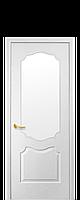 Дверное полотно: Вензель. Исполнение: со стеклом Сатин.