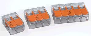 WAGO-клемма 221 серии для распределительных коробок