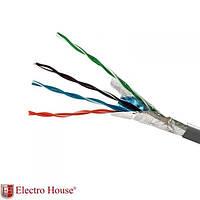 ElectroHouse Кабель FTP  4х2х0,51 Cu