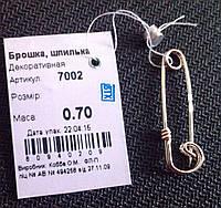Булавка серебро 925 пробы Декоративная
