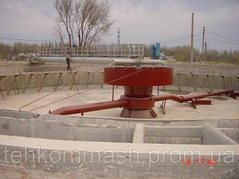 Илосос диаметром 40 метров М741 для вторичных радиальных отстойников, ИВР-40, фото 2