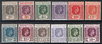 Британский Маврикий 1938 г. MLH SC#211-222