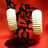 Сережки кольца белые с камнями , фото 3