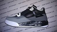 Кроссовки Air Jordan серо-черные 40, 41 р.