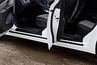 Накладки на внутренние пороги дверей Chevrolet Cruze I 2009-2011 г.в. (Шевролет Круз)