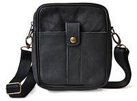 Кожаная мужская сумка дешево, фото 1