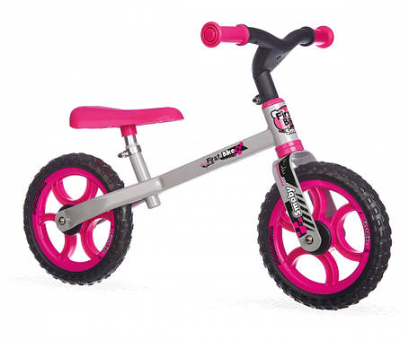 Беговел First Bike (розовый), Smoby (770201), фото 2