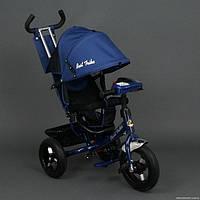 Детский трехколесный велосипед Best Trike 6588B с фарой,синий
