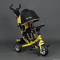 Детский трехколесный велосипед Best Trike 6588,желтый