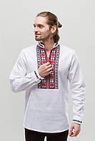 Мужская вышиванка Орий Красно-Черная