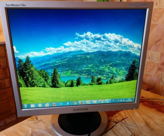 Монитор 17 дюймов квадратный 4:3 Samsung 710-720