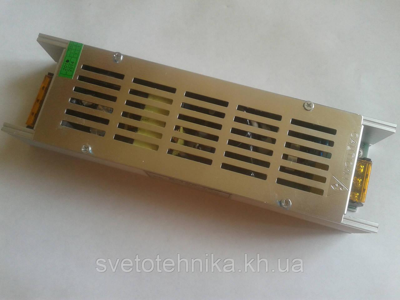 Блок питания понижающий для светодиодных лент 12V 150Вт мини (12.5А)