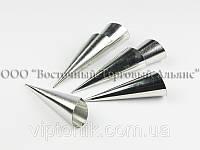 Набор металлических форм для трубочек и круассанов (6 шт.)
