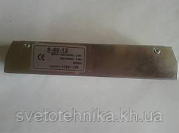 Блок питания понижающий для светодиодных лент 12V 60Вт узк (5А)