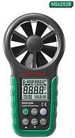 Цифровой анемометр MS6252B (0.40~30.0 м/c, ±3%, измерение температуры, влажности и потока воздуха)