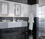 Керамическая плитка Absolute Modern черно-белый