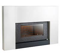 Чугунная печь-камин INVICTA ONYX (антрацит) в стальном корпусе