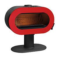Чугунная печь-камин INVICTA FIFTY (красная эмаль), фото 1