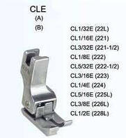 Лапка CL подпружиненная левая для отделочной строчки, фото 1