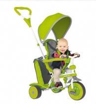 Детский велосипед Y-Volution Strolly Spin, цвет зеленый