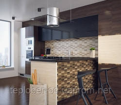 Керамическая плитка Karelia Mosaic коричневый