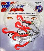 Оснастка морская Spro Norway Exp Red Fish Rig 4 №7/0Оснастка морская Spro Norway Exp Red Fish Rig 4 №7/0