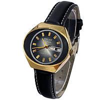 Poljot 17 jewels made in USSR позолоченные часы с календарем -店ヴィンテージ腕時計