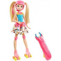 """Кукла """"Светящиеся ролики"""" из м/ф """"Барби: Виртуальный мир"""""""