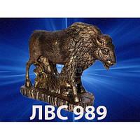 Статуэтка Зубр цветная ЛС-989